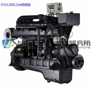 Marine, G128, 260kw, 1500rmp, de Dieselmotor van Shanghai voor Generator Set,
