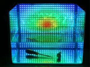 IP68 impermeável selou a luz de tira 5050 para o Underwater com silicone 60LED/M
