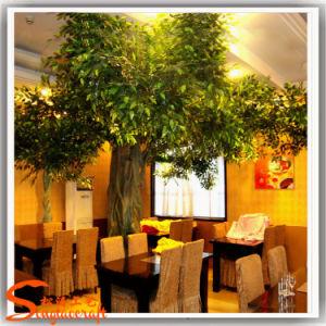 Simulação de alta Banyan artificial das plantas de Ficus Tree