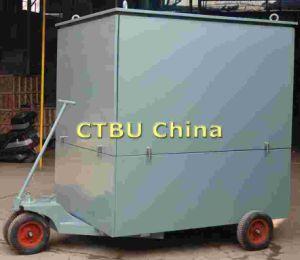 Vier Räder sichern mobile Transformator-Öl-Behandlung-Maschine
