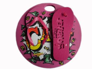 EVA Sole chinelos para senhora PE Flipflop Materails Fabricante da China