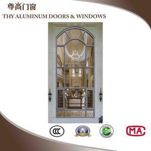 Good Quality를 가진 구부려진 Style Aluminium Casement Windows