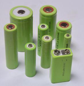 Batterijen -2650mAh van de Batterij 1.2V aa 300mAh van NiMH de Navulbare Droge