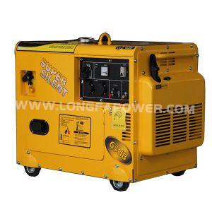 2015 새로운 Type 5.5kw/5.5kVA Portable Super Silent Gasoline Generator
