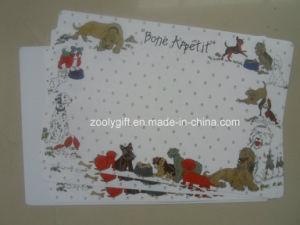 Het hete Af:drukken 43*28 pp Placemat van de Kleur van de Verkoop Waterdichte Plastic Volledige