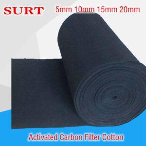 Betätigtes Kohlenstoff-Faser-Filter-Ineinander greifen/betätigte Kohlenstoff-Baumwolle