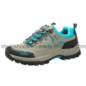 Senderismo zapatos deportivos para los hombres con suela de goma (ST1601)