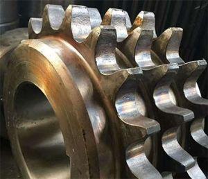 위조 합금 강철 큰 타이어 기어