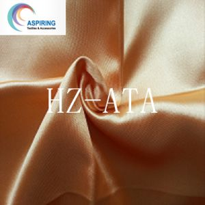 75dx150d Tecido acetinado /Acetinado de poliéster /Seda Fabeic acetinado