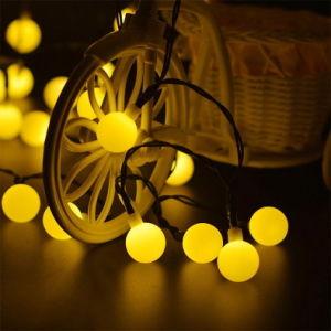 LED Solar de la luz de la cadena para el Festival y la necesidad de ambiente