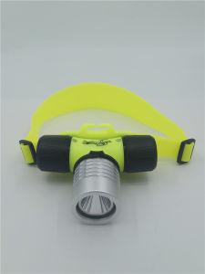 세륨 RoHS 1W 플라스틱 Ipx 8 방수 잠수 Headlamp