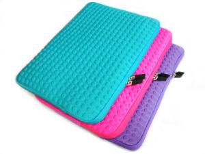En relief sacoche pour ordinateur portable de couleur de protection en néoprène (FRT1-01)