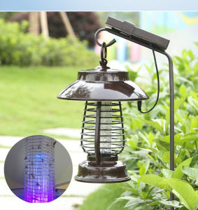 2018 nueva plaga de la luz de Killer Soalr Solar lámpara de insecticidas de Jardín de Luz Solar