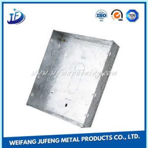 Lamiera sottile della lega di alluminio/acciaio inossidabile che timbra per la cassa del contenitore/calcolatore di metallo