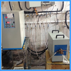 堅くなる金属のための高周波誘導加熱機械(JLCG-20)