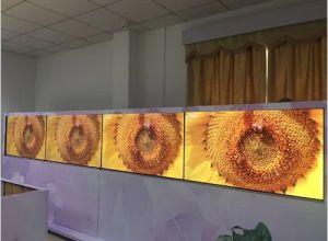 Monitor longo do LCD da tira do supermercado da estação de 38 polegadas