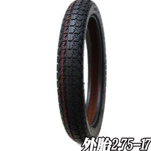 Heißer Verkauf CCC-Bescheinigungs-Motorrad-Gummireifen 2.75-17