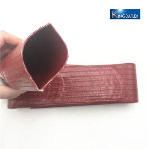 Tubo flessibile piano posto TPU/PVC agricolo resistente del tubo flessibile di irrigazione