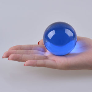 Mayorista de 6cm de 60mm bolas de cristal bolas de vidrio para regalos promocionales