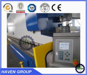 WC67S-160X4000 de prensa de doblado de acero inoxidable Stee hidráulico