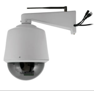 480TVL 1.0 Megapixel HD PTZ IP-Kamera WiFi drahtlose mit Pan / Tilt / Zoom Outdoor Dome IP-Netz CCTV-Kamera-