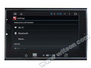 Peugeot를 위한 Witson 인조 인간 4.4 시스템 차 DVD 3008/5008