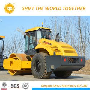 十分のShantuiの公式の製造業者の油圧単一のドラム振動道ローラー