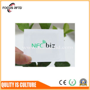 공장 가격 제 2 Barcode를 가진 새로운 디자인 NXP NFC 스티커는 인쇄했다