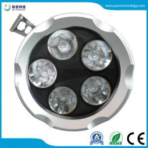 5X6W 18.650 LED recargable 395nm Linterna UV