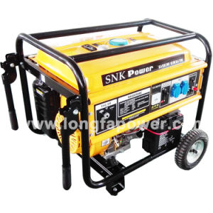 5kVA/6kVA/7kVA/8kVA Snk Power Gasoline Generator for South Africa Market