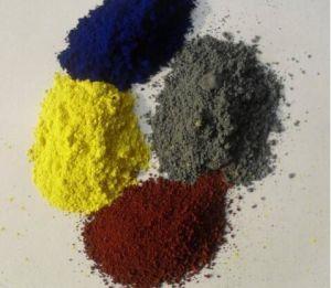 Het maken van Verf/het Concrete Pigment van het Oxyde van het Ijzer