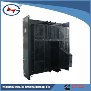 Qsk38-G2-1 Genset 방열기 알루미늄 Raidator 물 냉각 열 교환 방열기