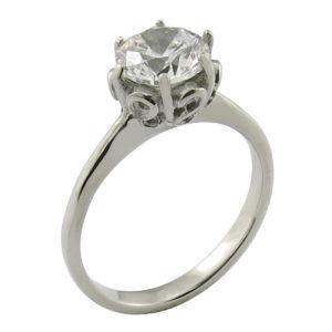 習慣1のカラットHはダイヤモンドの結婚指輪を着色する
