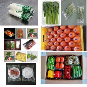 Película tipo Horizontal automático de ajuste de la bolsa de verduras de la máquina de embalaje