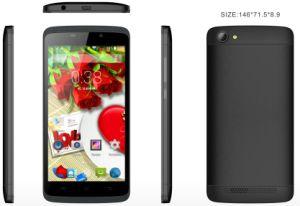 A MTK 6580 1.3G CPU, Android Market 5.1, 5.0 Polegada HD 1280*720 IPS, GPS Smart Phone
