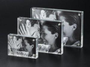 2016 Новый Стиль акриловой Photofunia/рамка для фотографий, акрил магнитная рамка для фотографий