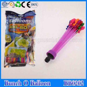 Bando de água balão cheio cheio em 1min