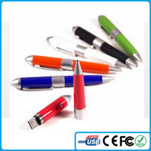 レーザーLight Wholesale Cheapとの2015本のペンのShaped USB Pen Drive