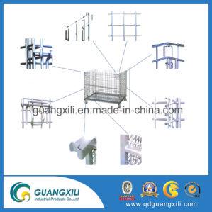 L'entreposage de Wire Mesh cage de stockage pliable en métal