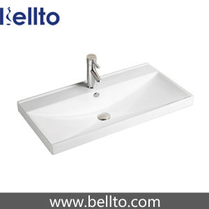 Vanity Units의 호화스러운 Bathrooms Ceramic Vanity Top