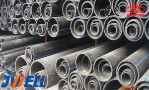 PP de HDPE de tipo vertical de PVC de doble pared de la línea de extrusión de tubo corrugado