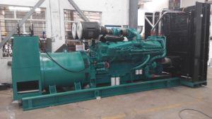 900kw는 Cummins Engine를 가진 유형 전력 디젤 엔진 발전기를 연다