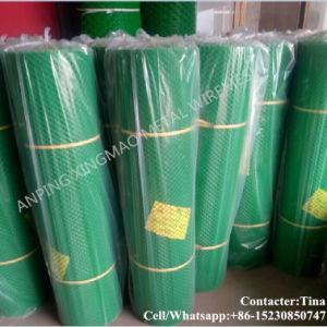Fabricant en Chine Écran de treillis en plastique vert / Écran de ...