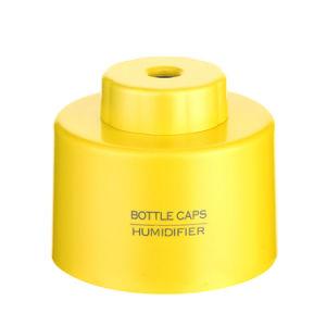 USBのBottle+2PCS吸収性フィルター棒が付いている携帯用ABS水差しの帽子の加湿器DC 5Vのオフィスの空気拡散器の香りの霧メーカー