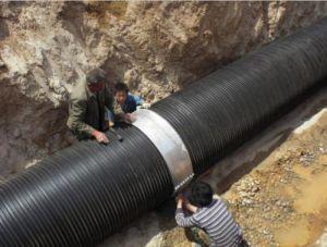 Spitzenkategorie HDPE gewölbtes Rohr für städtisches Projekt