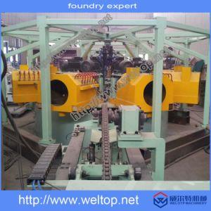 Multi-Station Centrifugaal Gietende Lopende band voor Turbine