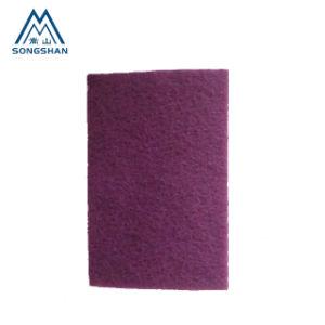 Tampons à récurer de nylon industriel pour la finition en acier inoxydable