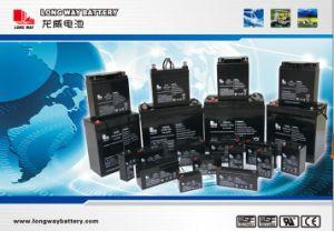 12V7.2ah AGM Solar de batería UPS de ciclo profundo