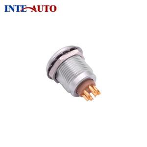 硬度センサーのためのすぐにLemos 5ピンM12自動閉鎖ソケット