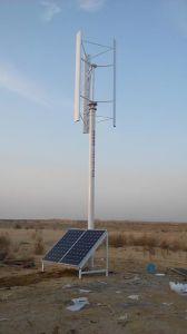 Het wind-zonne Hybride Systeem van de Levering van de Macht